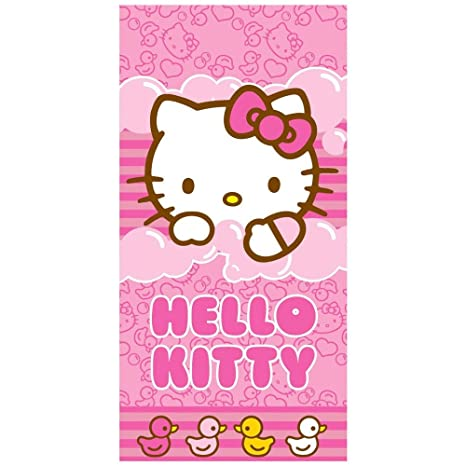 Toalla Hello Kitty Bubbles