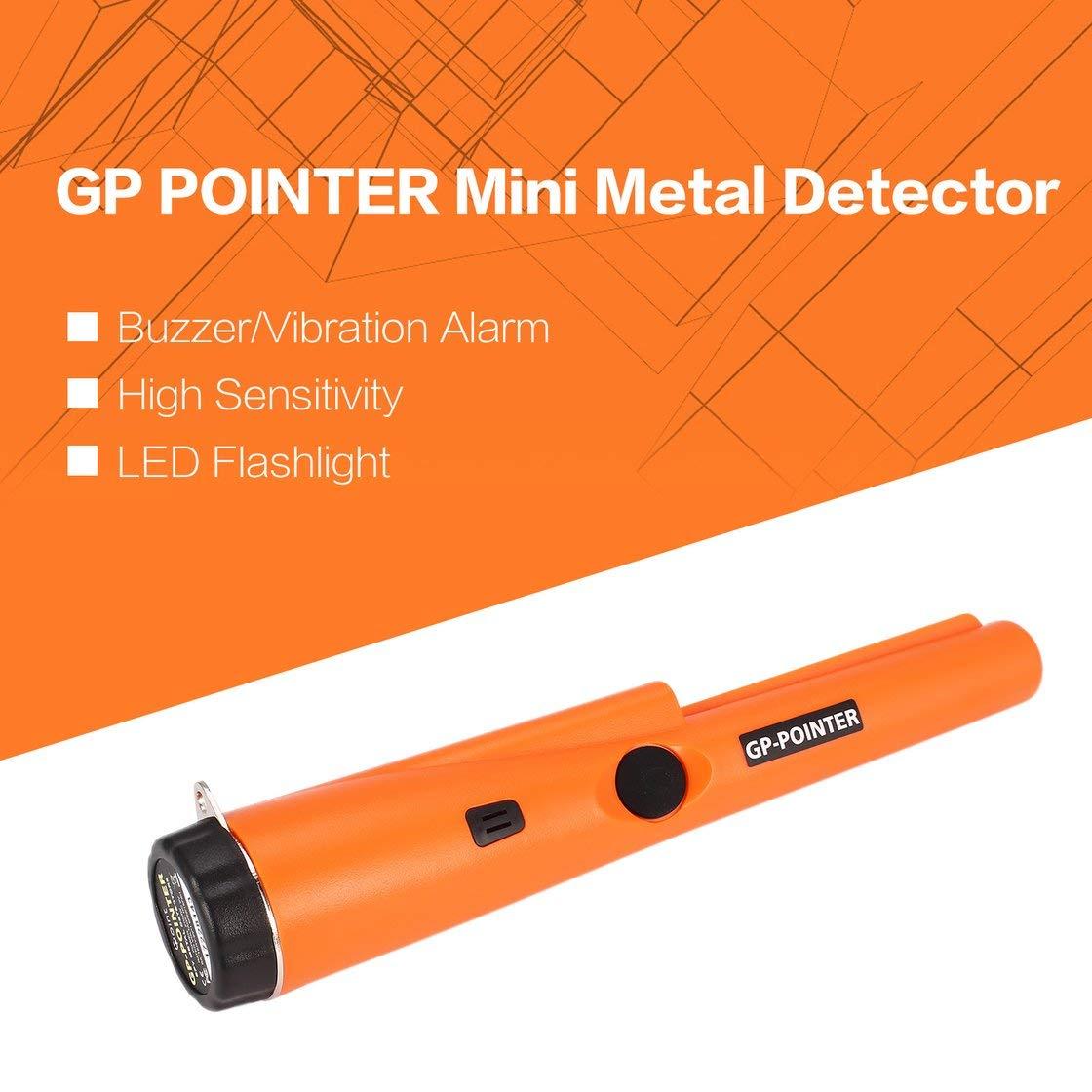 GP POINTER Detector de metales Mini Pro Pinpointing de mano Buscador de tesoros de oro de la moneda Buscador de alarmas de búsqueda de oro: Amazon.es: ...