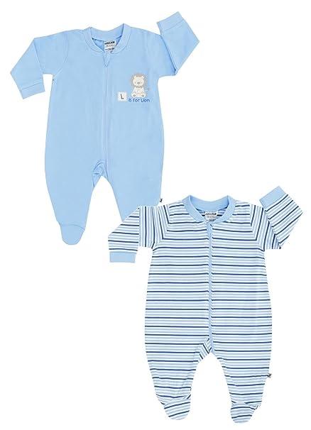 Jacky Baby - Pelele para dormir - para bebé niña azul 50 cm/56 cm: Amazon.es: Ropa y accesorios