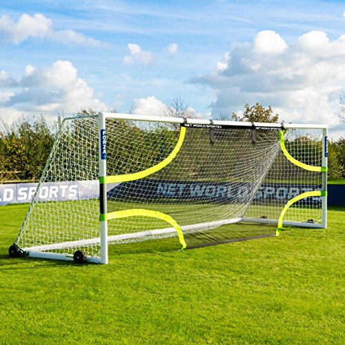 FORZA Pro Soccer Goal Target Sheets (Choose Your Size - 12 x 6 - 24 x 8) - Professional Soccer Training Equipment For Improving Accuracy And Finishing Technique [Net World Sports] (16ft x 7ft)