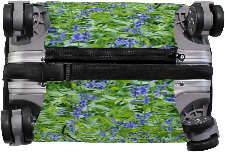 LEISISI Garden In The Forest Luggage Cover Elastic Protector Fits XL 29-32 in Suitcase
