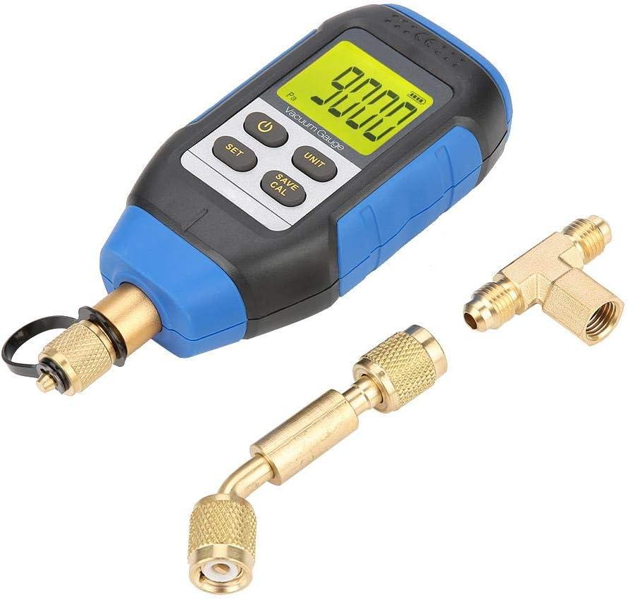 Vacuómetro digital VMV-1, rango 0-30000 micrones, precisión 2%, interfaz 7/16-20UNF