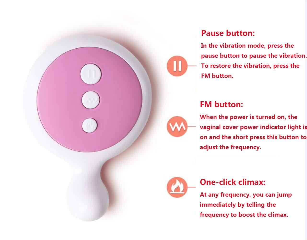 Masajeador Femenino MáScara Vaginal Invisible Viable Control Remoto De VibracióN Saltando Huevo Juguete Adulto: Amazon.es: Salud y cuidado personal