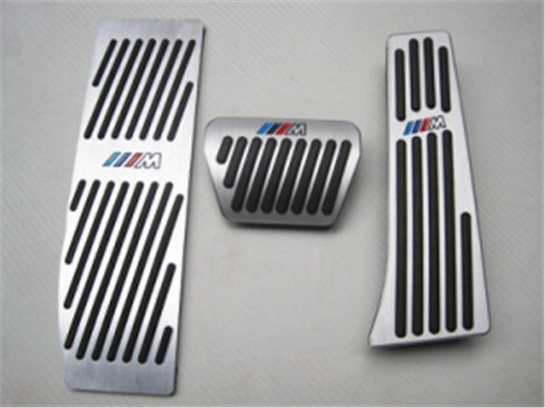 Farbe : 3 Series GT3 F30 Delete Auto Pedalauflagen Bohren kein Gas Bremspedal Zubeh/ör Fit for X5 X6 at