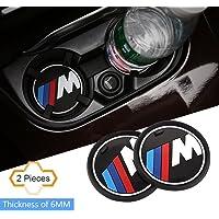 "Posavasos S-Weka, 2 piezas antiderrapantes, accesorio para interior de automóvil, para BMW 1, 3, 5, 7, series F30, F35, 320l,i 316i, X1, X3, X4, X5, X6, 2.9 pulgadas de diámetro series X3, X4, 5, 7, series, 2.6""(66mm)"