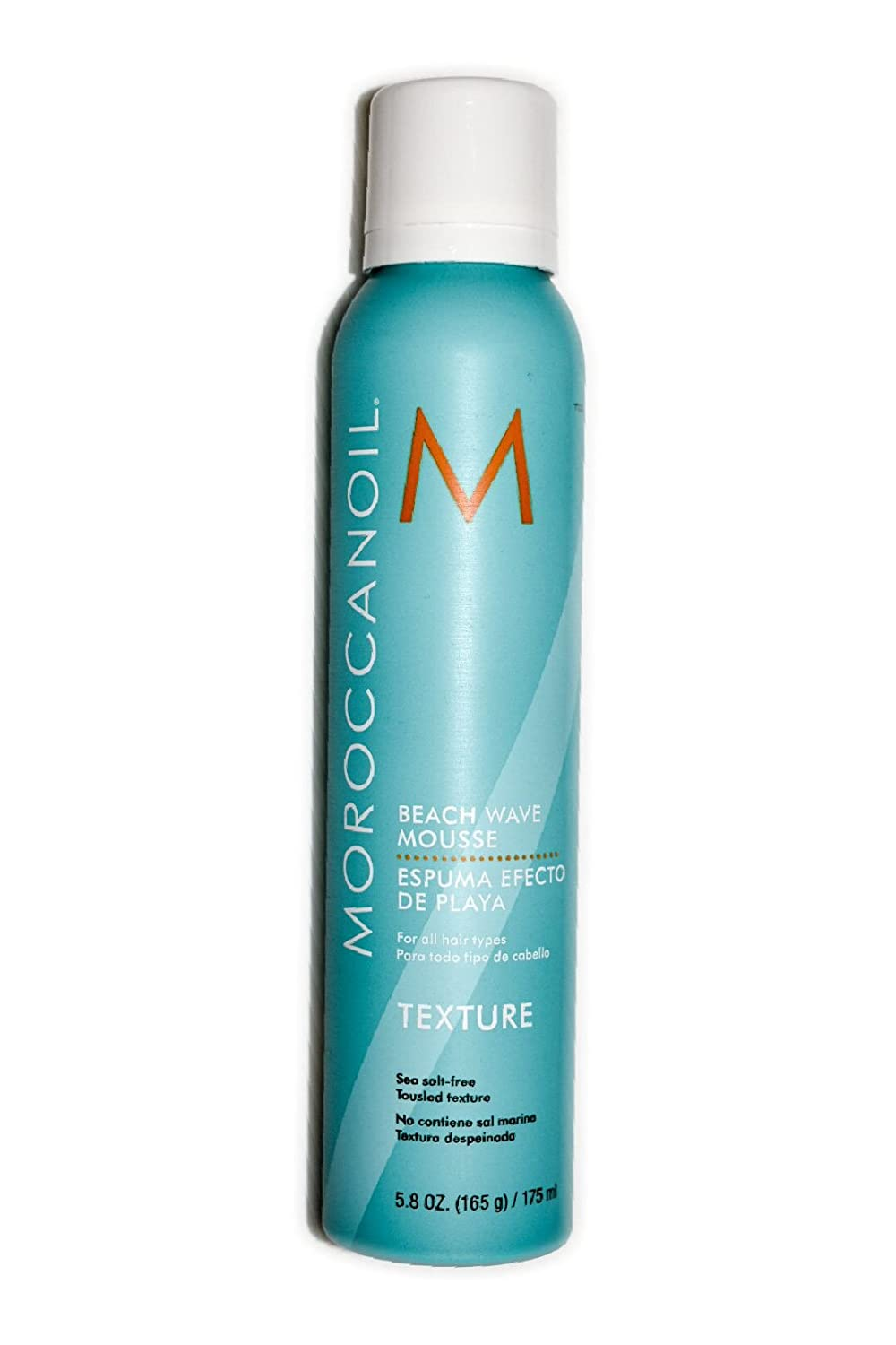 Moroccanoil Texture Beach Wave Mousse 5.8 oz 175 Ml by Moroccanoil