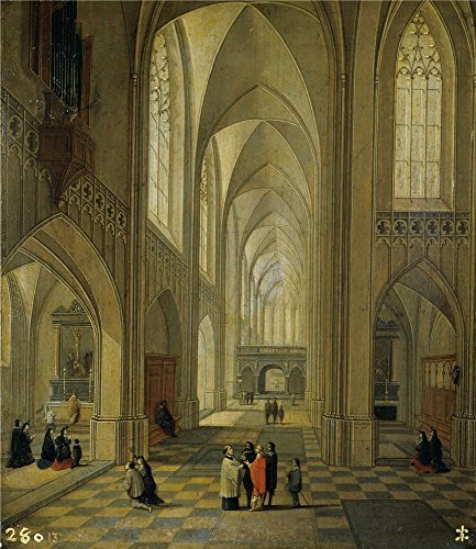 [Perfect Effect Canvas ,the Vivid Art Decorative Prints On Canvas Of Oil Painting 'Francken III Frans Neefs Louis Interior De Una Iglesia 1646 ', 24 X 28 Inch / 61 X 70 Cm Is Best For Kitchen Artwork And Home Decoration And] (Super Deluxe Chewbacca Costumes)
