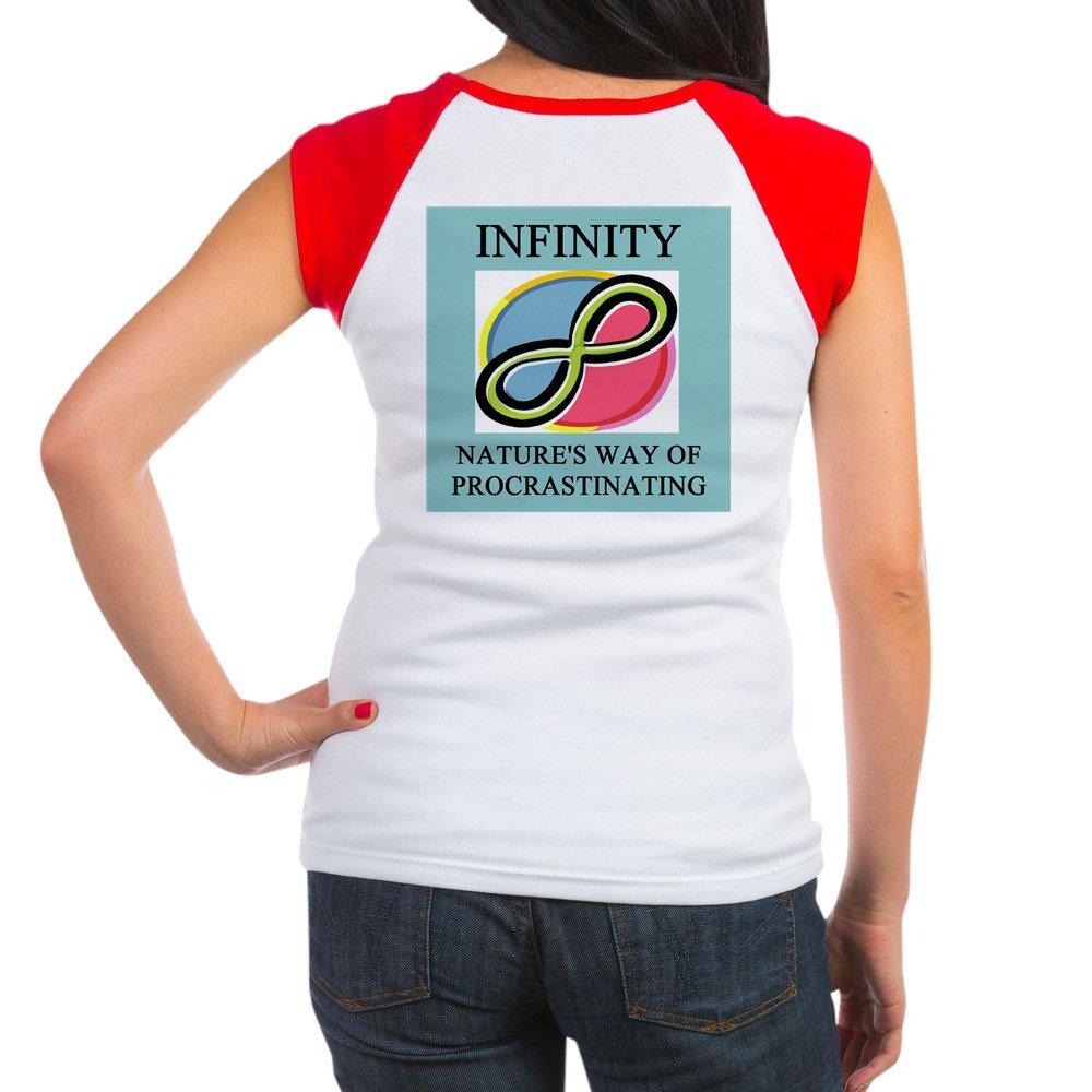 501cb9febb Amazon.com: CafePress - Funny Math Geek Gifts - Women's Cap Sleeve T-Shirt  Red/White: Clothing