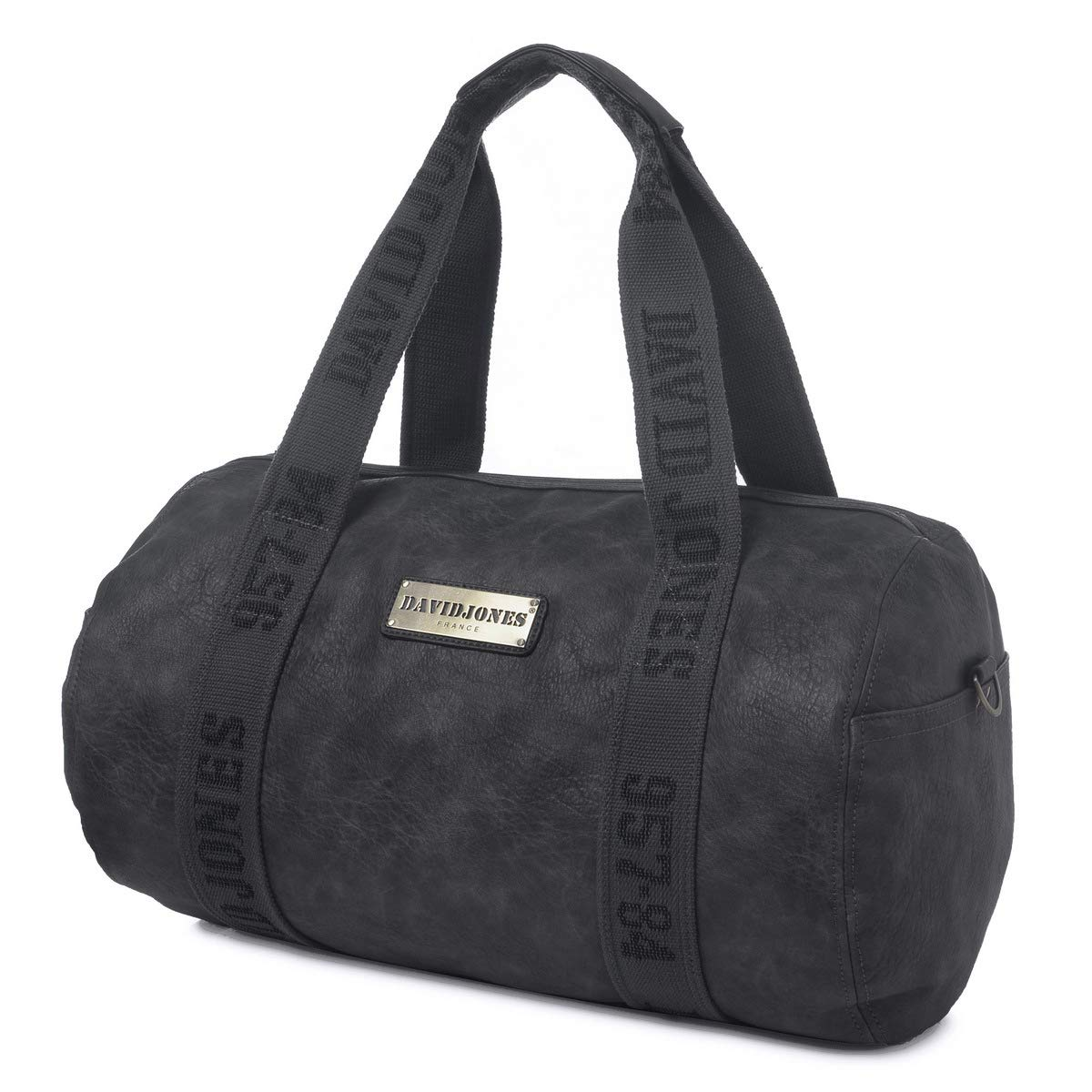 615b0a8103 David Jones - Women s Large Travel Bag - Hand Luggage Duffle Tote Bag - PU  Leather Sports Gym Bags - Large Capacity Weekender Bags Men -  Multifunctional ...