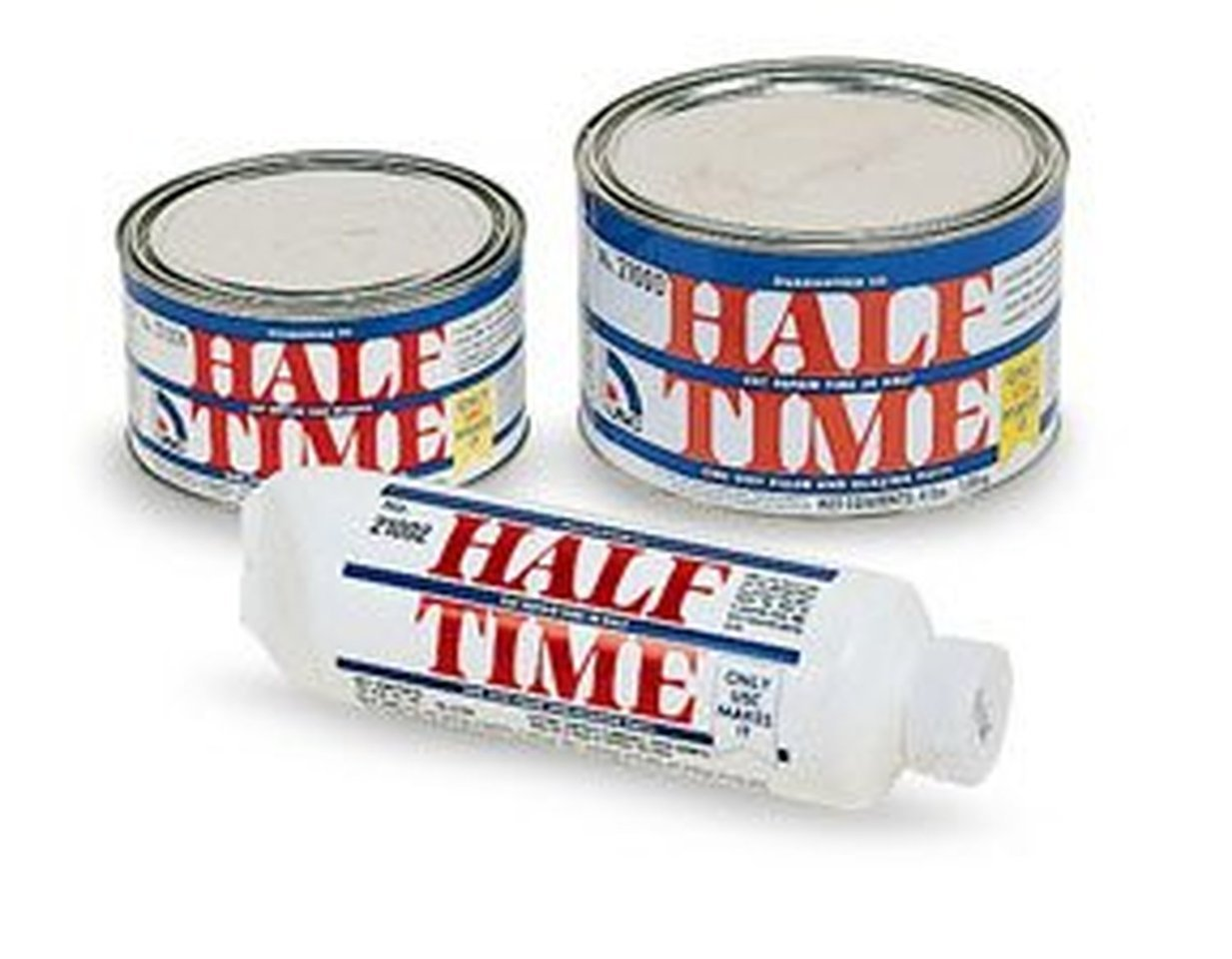 USC HALF 21004 TIME One Step Filler and Glazing Putty 1 QUART