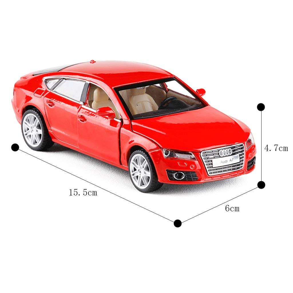 Amazon.com: Alloy Car Model Audi A8 Sports Car Kids Toys 8 ... | audi a7 toy car