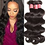 Jolia Malaysian Body Wave Hair 3 Bundles 100% Unprocessed Virgin Human Hair Weave Remy Hair Extensions Natural Color 14 16 18 inch