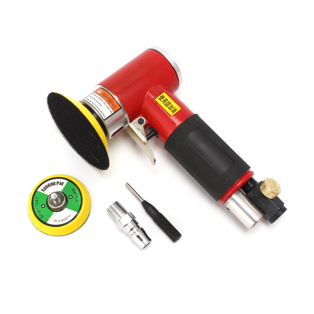2inch/3inch Mini Air Sander Dual Action Orbital Polisher for car Pneumatic Polishing Tool