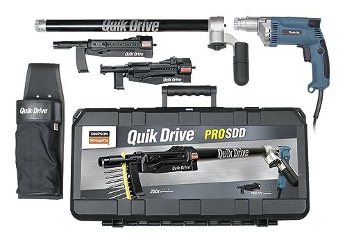 Quik Drive PROSDDM35K Complete Combo Multi-Use Kit for Fastening Decks, Subfloor, Sheathing and Drywall