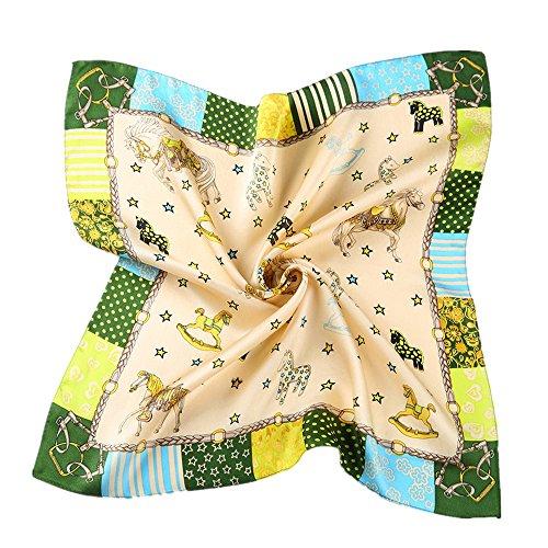 peque patr seda de primavera para cuadrada bufanda mujer a Toda la 5 CtxA7qC