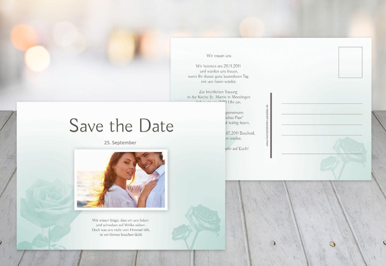 Kartenparadies Hochzeitskarte Save-the-Date Rosa, hochwertige Save the Date Karte zur Hochzeit   30 Karten - (Format  148x105 mm) Farbe  HellRosa B01NAV9FAA | Lebhaft und liebenswert  | Online-verkauf  | New Listing