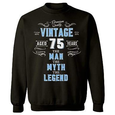 BADASS REPUBLIC 75th Birthday Gift For Men The Man Myth Legend