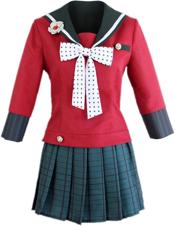 Danganronpa V3 Killing Harmony Harukawa Maki Cosplay Costume School Sailor Dress Uniform Suit