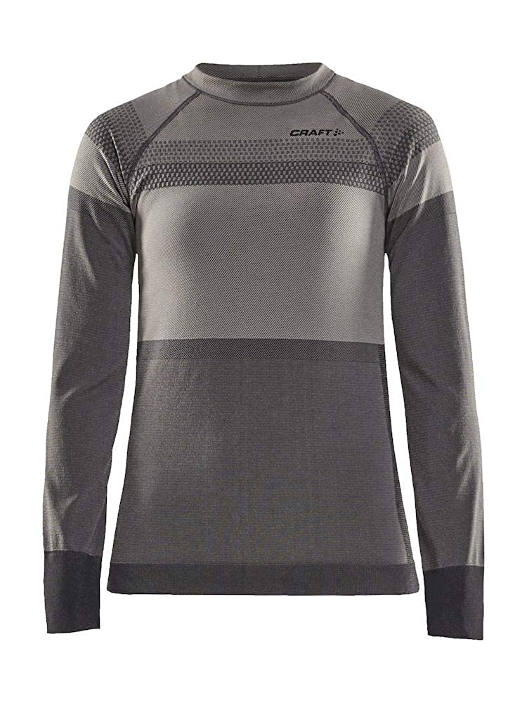 Image of Active Base Layers Craft Women's Warm Intensity Crew Neck Long Sleeve Base Layer Shirt
