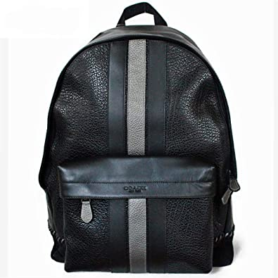 26bbe2d305b7 コーチ メンズバッグ リュック レザー ベースボールステッチ バックパック COACH CHARLES BACKPACK WITH BASEBALL  STITCH