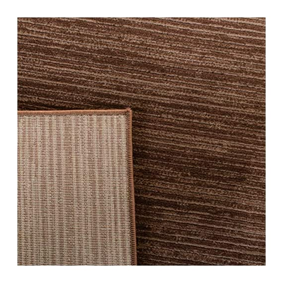 "Safavieh Vision Collection VSN606E Modern Contemporary Ombre Tonal Chic Runner, 2' 2"" x 6', Brown - Tone-on-tone colors give these rugs a clean contemporary vibe Versatile enough to decorate the bedroom, dining room, living room, foyer, or home office Refined power-loomed construction and enhanced polypropylene fibers ensure an easy-care and virtually non-shedding rug - runner-rugs, entryway-furniture-decor, entryway-laundry-room - 61ViBYnhPIL. SS570  -"