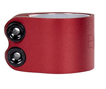Ethic DTC Patinete de aluminio Light Clamp 31,8 o 34,9 Rojo ...