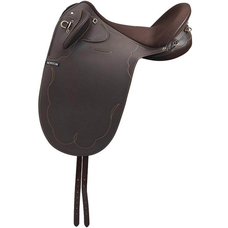 EKKIA(エキア) 乗馬用具 ブラック NORTON STOCK SYNTH. 16 BLACK 117601160 117601160   B01MA4J52C