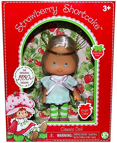 """Strawberry Shortcake Angel Cake Classic Collection Exclusive Doll Re-Issue of Original Doll 6"""" IN STOCK"""