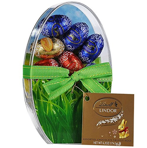 Lindor Assorted Truffle Eggs Easter Gift Basket