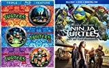 Teenage Mutant Ninja Turtles: Out Of The Shadows + TMNT / Teenage Mutant Ninja Turtles II: The Secret of the Ooze / Teenage Mutant Ninja Turtles III: Turtles in Time Triple Feature Blu Ray 4 Movie Set
