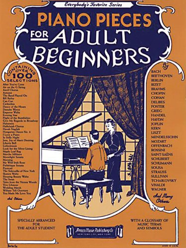 Read Online Piano Pieces for the Adult Beginner, No. 251 ebook