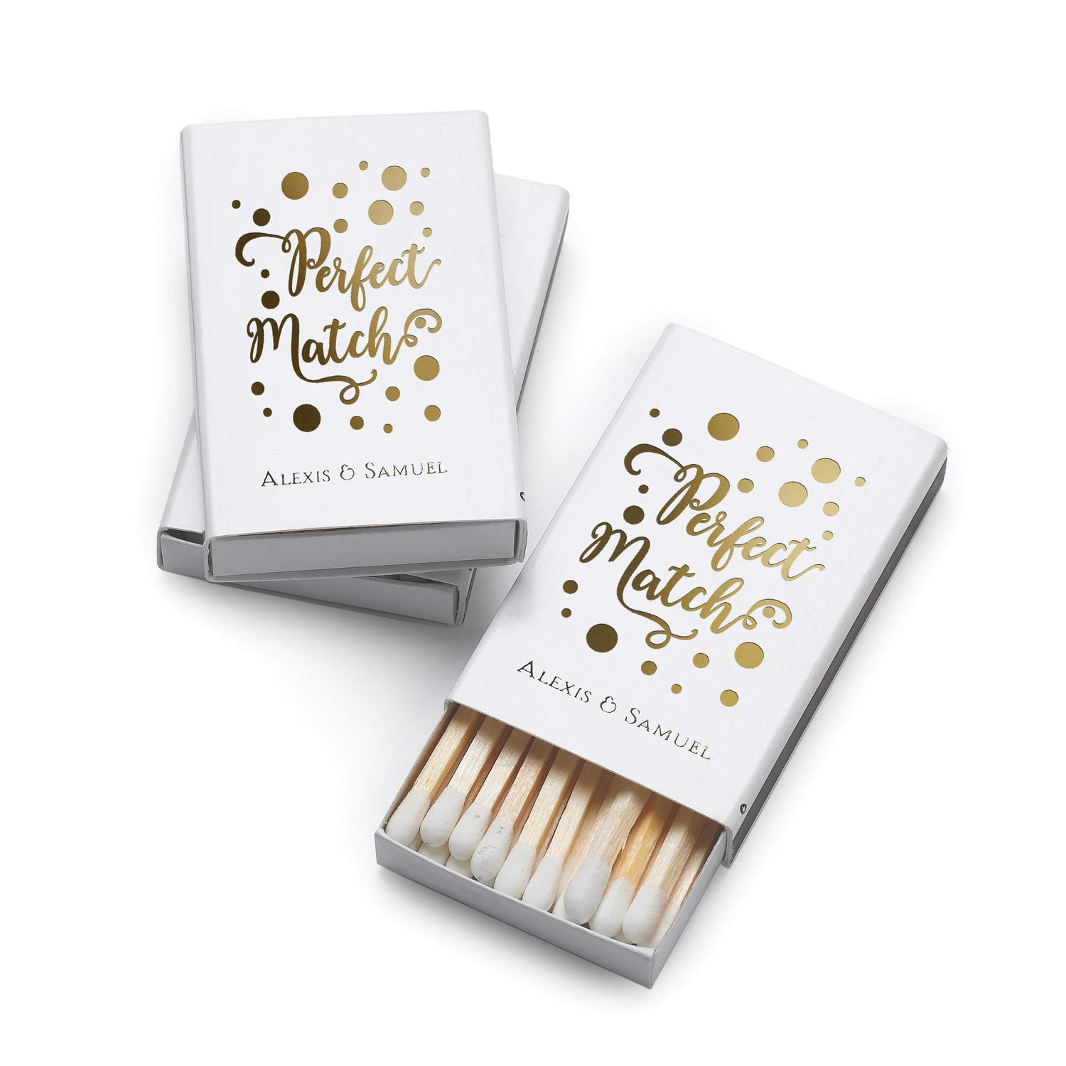 300pk Perfect Match - Box Matches-Favors by Carlson Craft (Image #1)