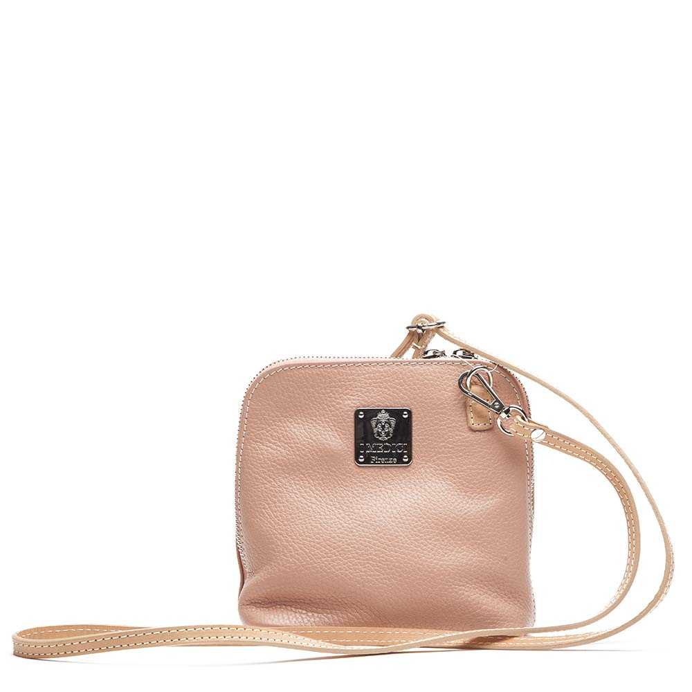 Messenger Bag by I Medici That are Directly Imported from Italy Pink Bag 298