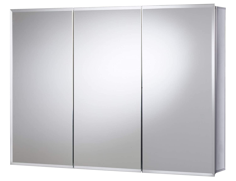 JACUZZI PD48000 26 H x 36 W x 5-1 4 D Triple Door Medicine Cabinet