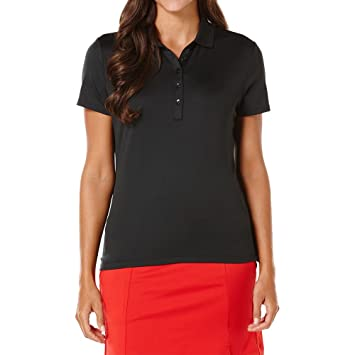 Callaway Womens Golf Performance Solid Short Sleeve Polo Shirt ...