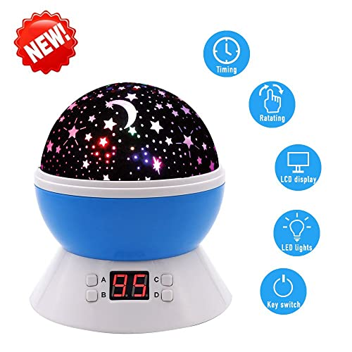 Scopow Colorful Constellation Star Sky Kids Night Lamp