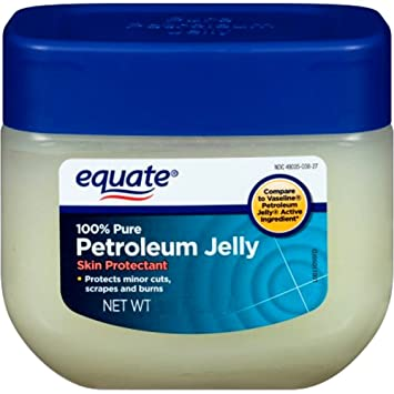 Petroleum jelly personal lubricant
