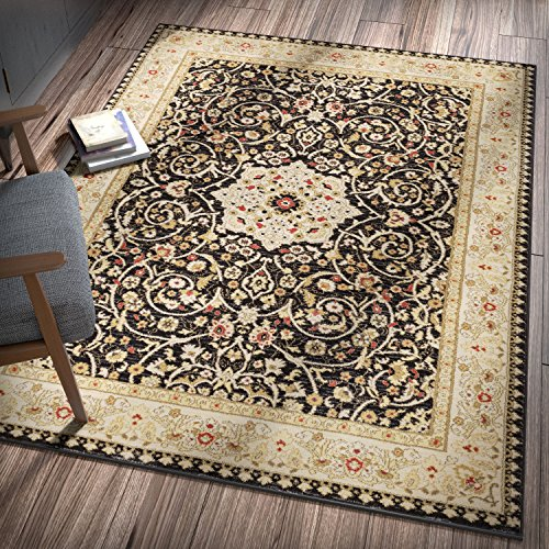 lafayette-black-mashhad-persian-medallion-area-rug-5-x-7-53-x-73-thick-soft-shed-free-easy-to-clean-