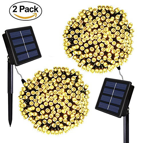 The only way to make SOLARMKS' solar string lights better is to get two at once!!