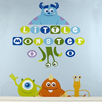 Disney Baby - Monsters Inc. Wall Decals  sc 1 st  Amazon.com & Amazon.com: Disney Baby - Monsters Inc. Wall Decals: Baby