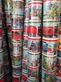 THOMAS & FRIENDS - TRAIN ~ Christmas Wrapping Paper ~ 45 Sq. Ft.