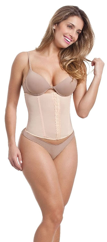Esbelt Skin Corset for Women from Nylon and Elastane - Instant Slimming Effect for Waist & Tummy - Seamless and Ultra-thin