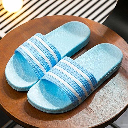 Pantofole home coppie fankou pantofole uno estate cool indoor 35 donne antiscivolo per di home pantofole 36 pantofole blu bagno spessore bagno uomini qpdgpwA