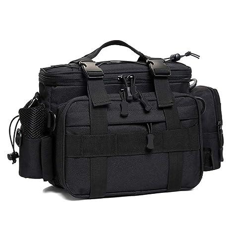373cc4ace2f4 Dr.Fish Fishing Tackle Storage Bag Outdoor Shoulder Waist Pack Crossbody  YKK Zippers 1000D Nylon