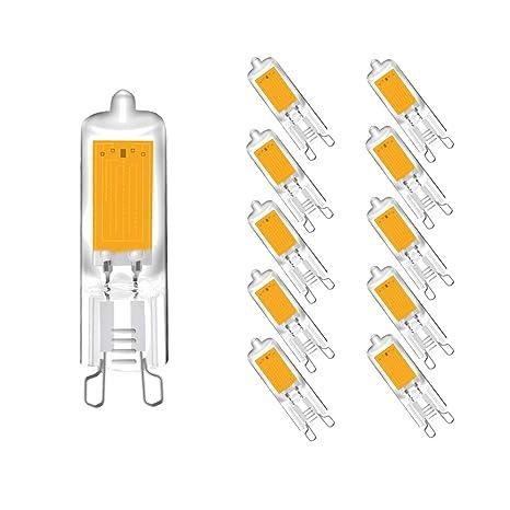 Bombillas LED G9 2W, Chip COB, Bombillas de Cápsula, 2W ...