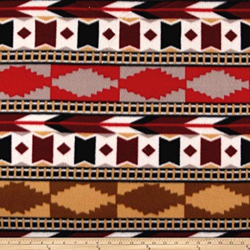 Newcastle Fabrics Polar Fleece Southwest Spice Fabric By The Yard ()