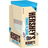 HERSHEY'S Cookies 'n' Creme Extra Large Candy, Bulk, 4 oz Bars (12 Count)