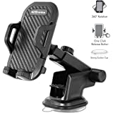 Portronics Clamp M POR-116 Car Mobile Holder (Black)