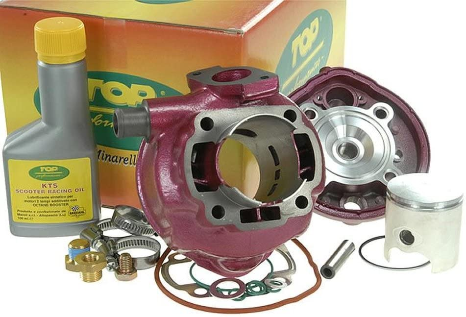 Zylinderkit 70ccm Top Performances Due Plus Für Yamaha Aerox 50cc Jog Rr Roller Auto