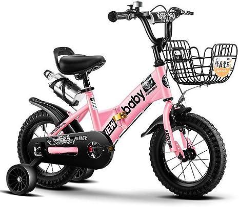 UOOGOU Bicicleta Plegable para niños Bicicleta Rosa/Verde/Blanca al Aire Libre Bicicleta de montaña de Moda con Estante para Botella de Agua: Amazon.es: Deportes y ...